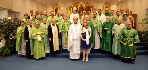 Fr. Tom and Annette and all the Clergy